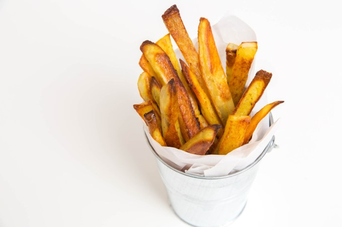 Baked Madras Curry French Fries | The Missing Lokness
