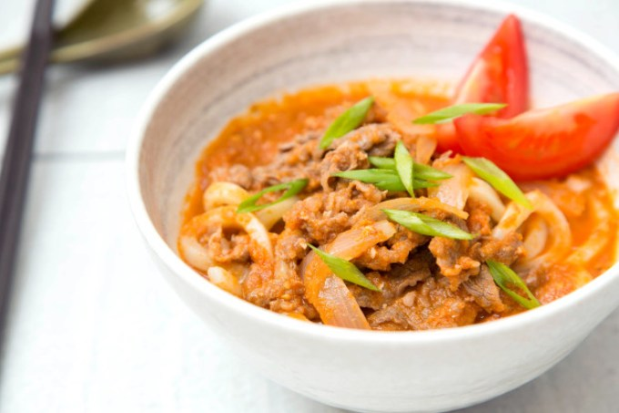 Beef Tomato Udon Soup 1| The Missing Lokness