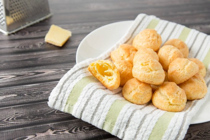 Gruyère Gougères (Cheese Puffs) 3  The Missing Lokness