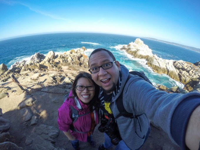 Bryan and I at Point Lobos State Reserve
