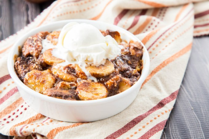 Banana Nutella Bread Pudding 3| The Missing Lokness