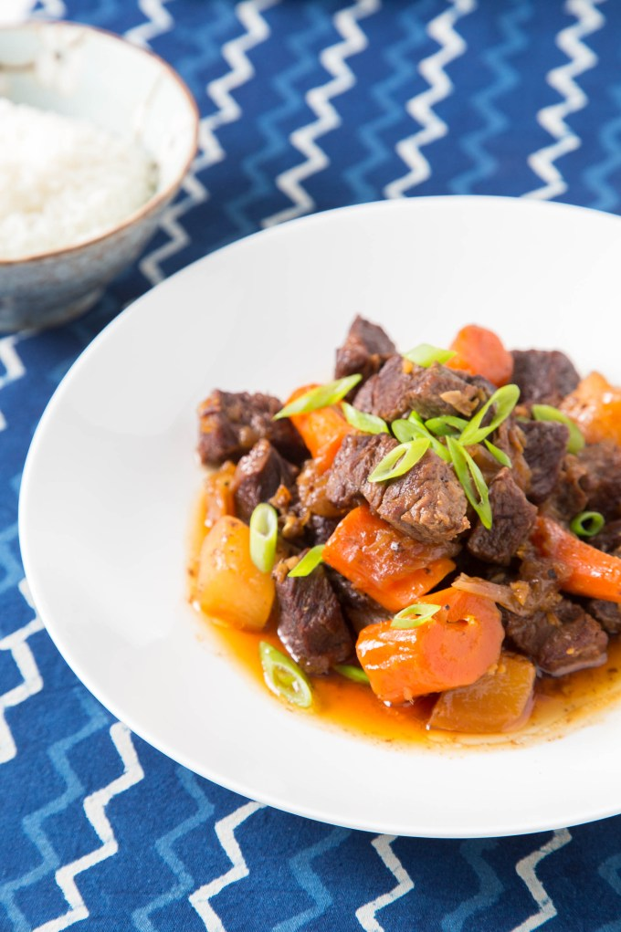 Braised Short Ribs with Daikon and Carrot (Pressure Cooker) 3  The Missing Lokness