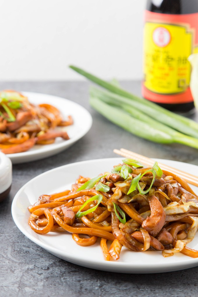 Stir-Fried Swiss Sauce Chicken Udon 2| The Missing Lokness