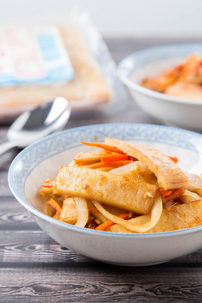 Eomuk Bokkeum (Korean Stir-Fried Fish Cake) 1| The Missing Lokness