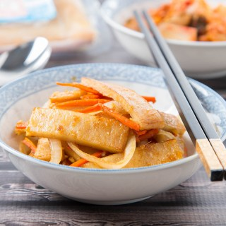 Eomuk Bokkeum (Korean Stir-Fried Fish Cake) #fishcake #stirfry #banchan #sidedish #koreanrecipe #dinner #dinnerrecipe | The Missing Lokness