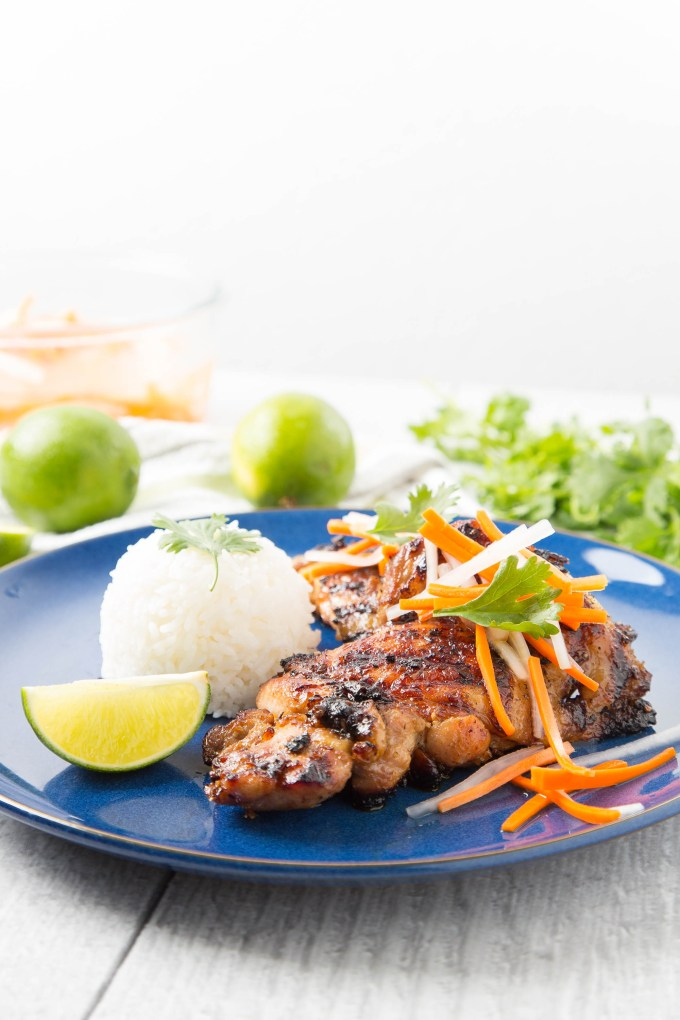 Vietnamese Grilled Lemongrass Chicken Thighs The Missing Lokness