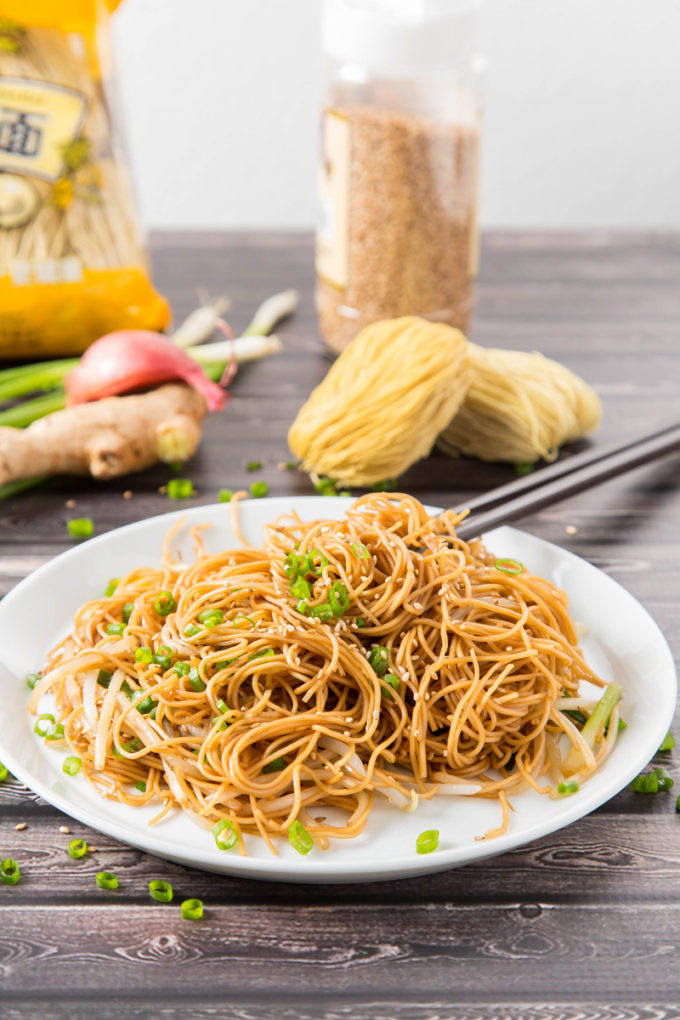 Hong Kong Soy Sauce Pan-Fried Noodles 1 | The Missing Lokness