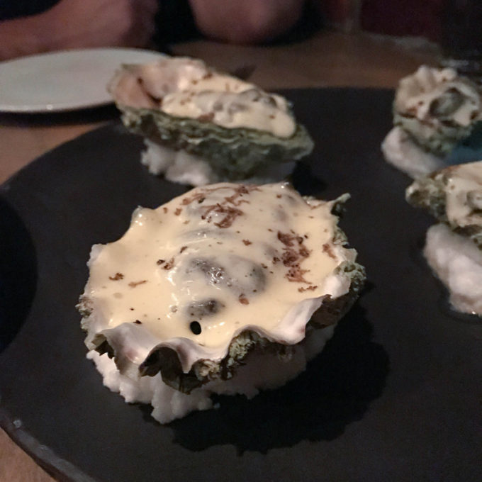 Baked Pacific Oysters @ L'Abattoir