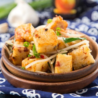 Pan-Fried Turnip Cake with XO Sauce #dimsum #breakfast #xosauce #turnipcake #turnip #chinesefood | The Missing Lokness