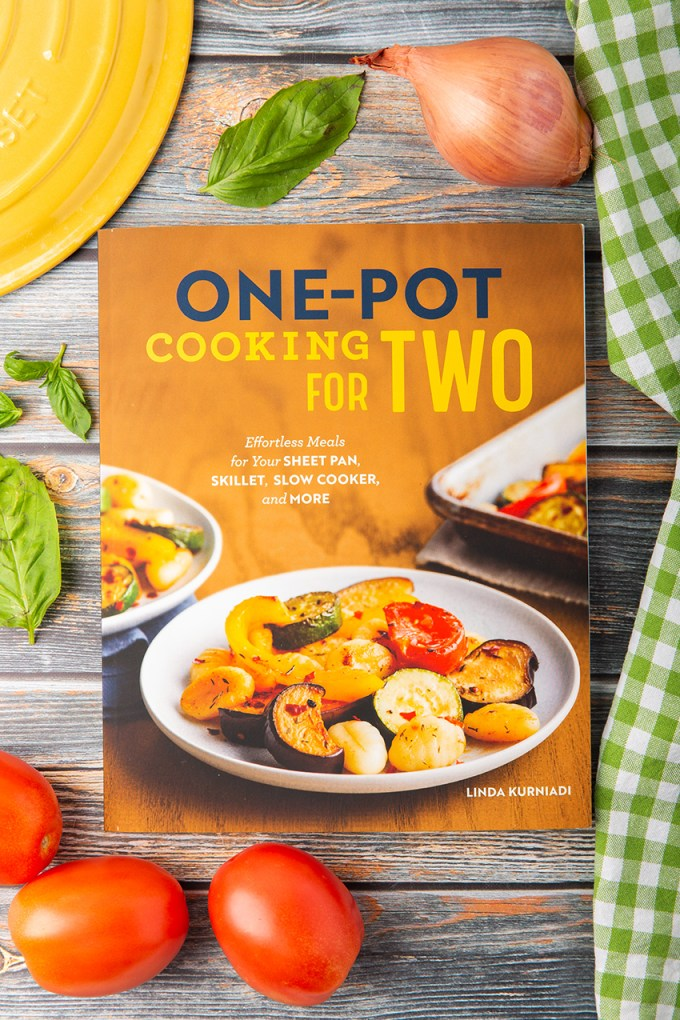 One-Pot Cooking For Two Cookbook #cookbook #cookbookgiveaway #dinneridea #cookingfortwo | The Missing Lokness