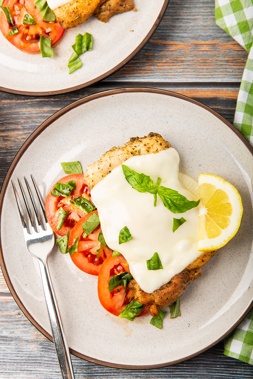 One-Pot Cooking For Two Cookbook #bruschetta #chicken #mozzarella #tomato #basil #baked #dinnerfortwo #easyrecipe #dinner #dinnerrecipe | The Missing Lokness