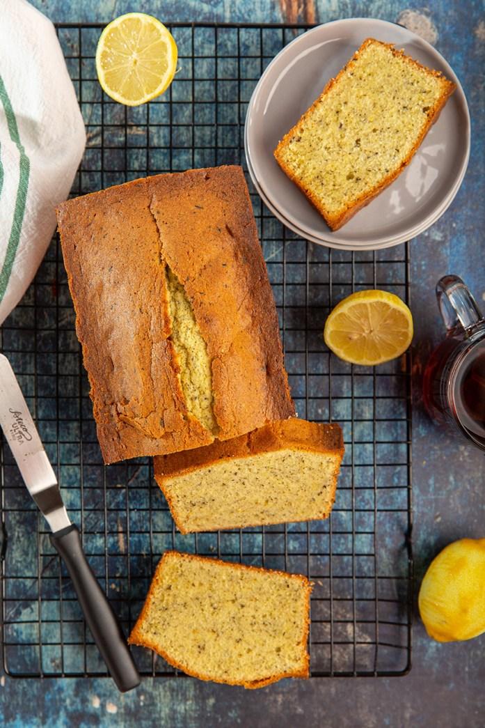 Lemon Earl Grey Pound Cake #poundcake #lemon #earlgrey #tea #dessert #dessertrecipe #baking #cake #breakfast | The Missing Lokness