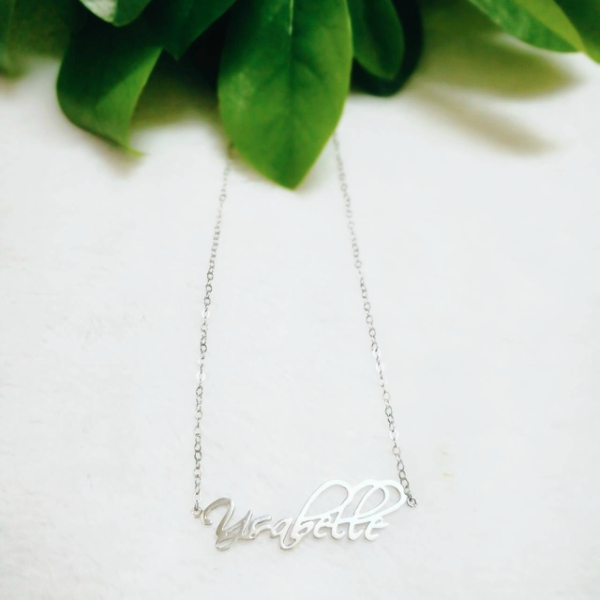 Sterling Silver Personalized Necklace for Kids