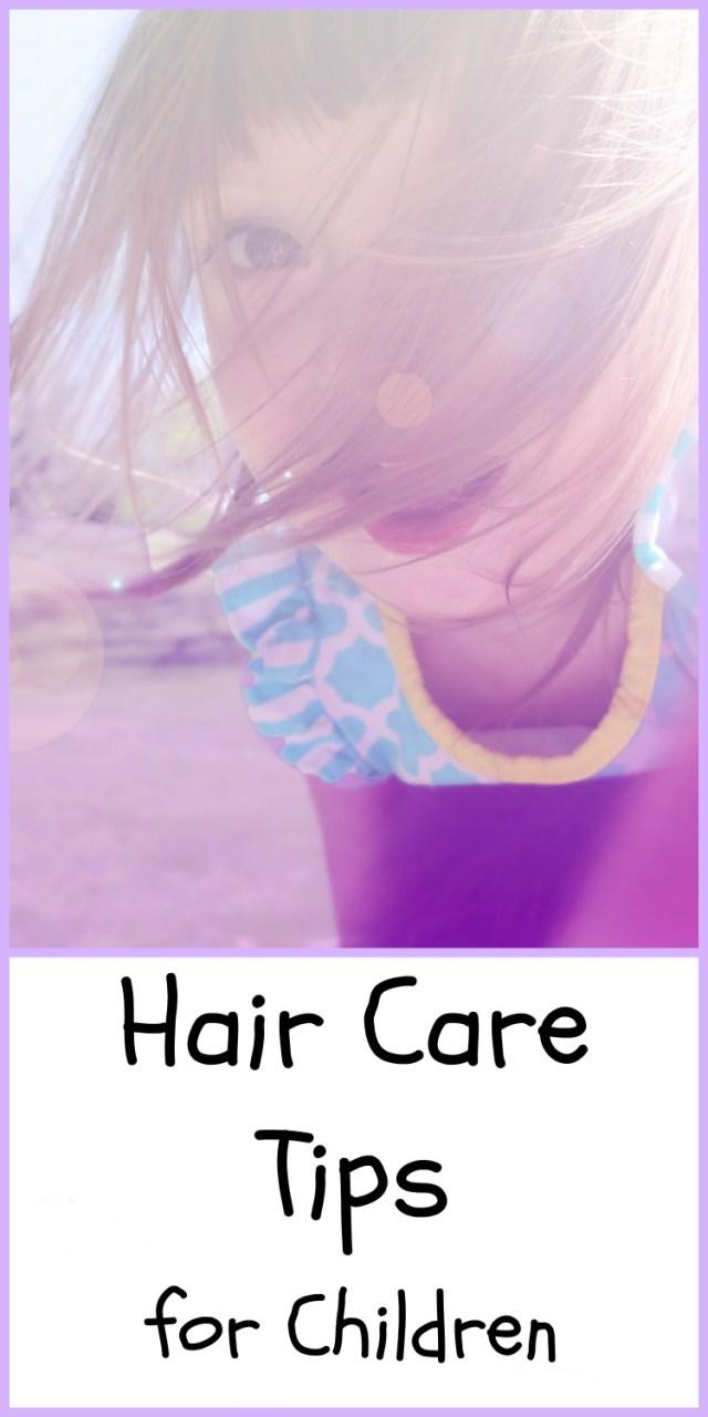 Hair Care Tips for Children