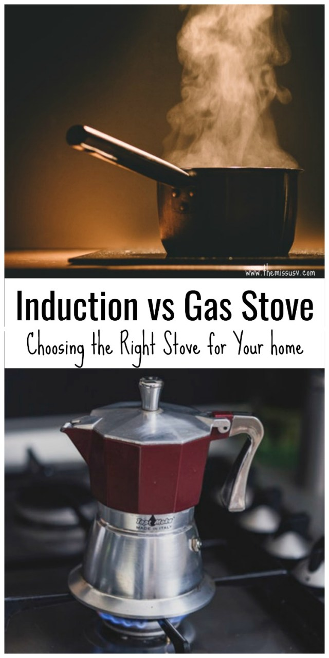 Induction vs Gas Stove - Choosing the Right Stove for Your home