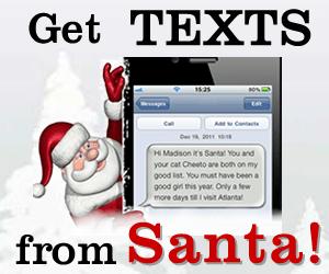 Get Texts from Santa