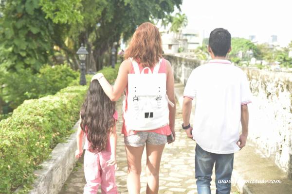 Gaston Luga Backpack - Family Time at Fort San Pedro
