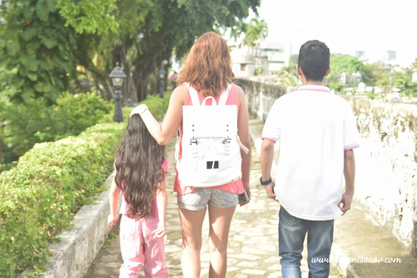 Gaston Luga Backpack - Family Time at Fort San Pedro