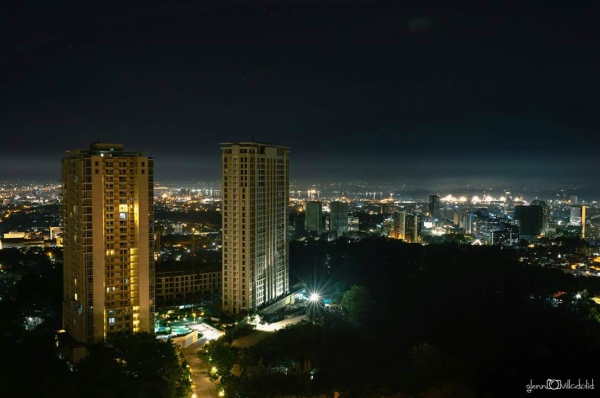 Valentine's Day Dinner in the Most Romantic Restaurant in Cebu - View from the top of Marco Polo