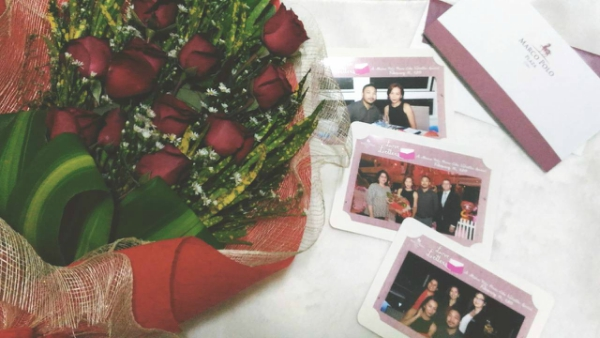 Valentine's Day Dinner in the most Romantic Restaurant in Cebu - Photos with Marco Polo Execs