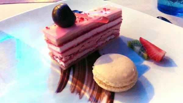 Valentine's Day Dinner in the most Romantic Restaurant in Cebu- Strawberry Champagne Opera Gatraux