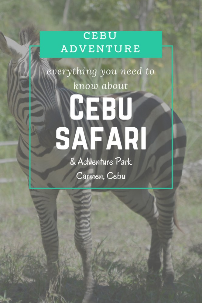 What to do in Cebu with Kids - Cebu Safari Adventure Park