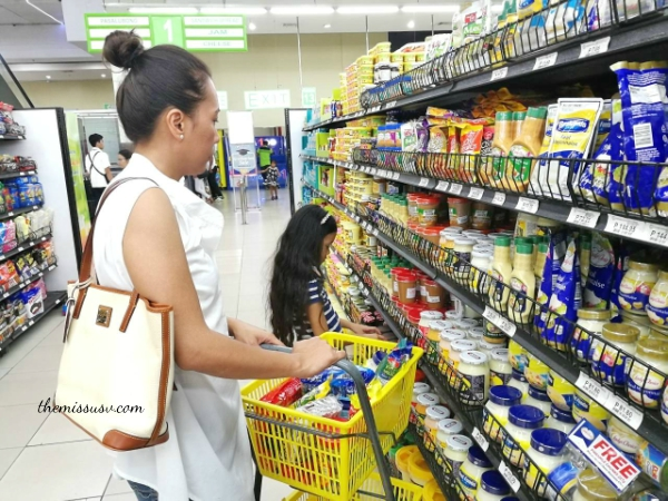 Beam and Go Remittance Service - Full Review - Gaisano Capital South Sandwich Spread Aisle