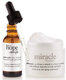 Mother's Day Basket Ideas - Philosophy Miraculous Anti-Agingskincare Duo