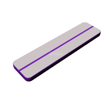 Amazing quality gray surface purple side gymnastic mats for home use