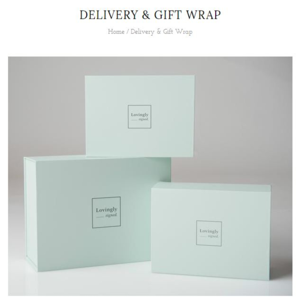 Personalized Baby Gifts - Delivery and Gift Wrap (1)