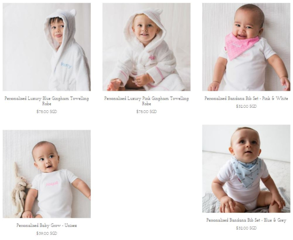 Personalized Baby Gifts - Robes and Bibs (1)