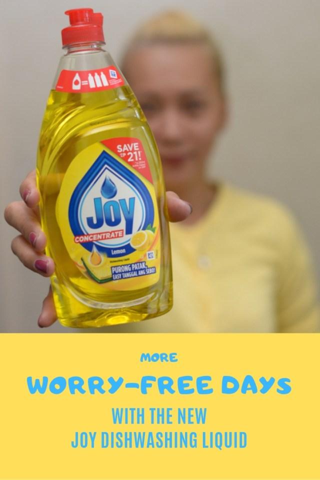 Worry-Free - Joy Dishwashing Liquid
