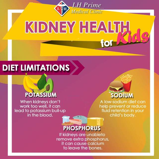 Kidney Health for Kids - Diet Limitations
