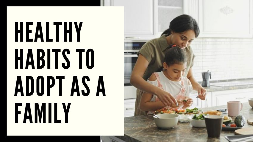Healthy Habits to Adopt as a Family