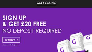 Gala casino 20 free