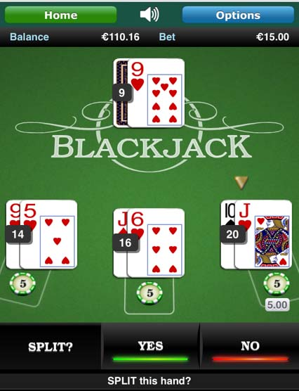 Paddy power mobile games blackjack