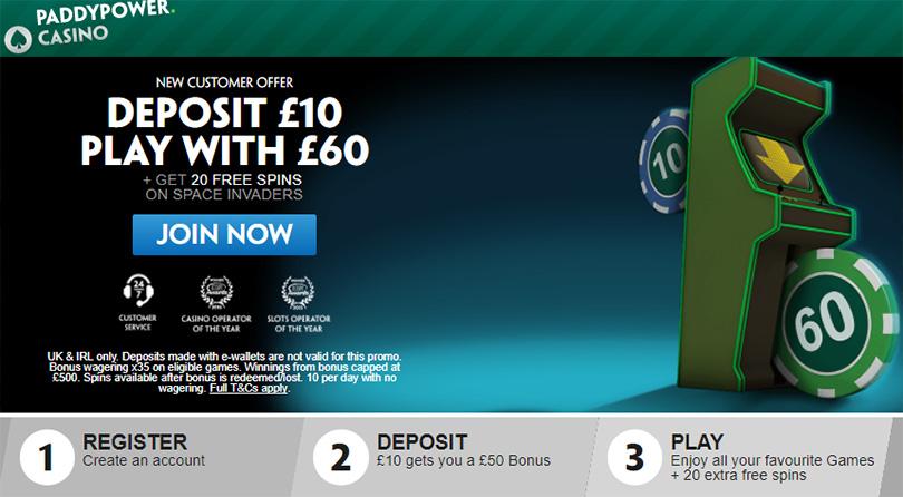 Paddy Power Casino UK