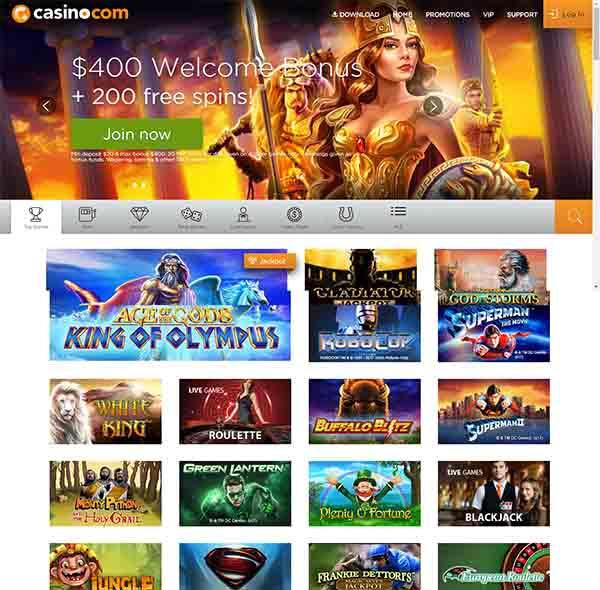 Casino-com games