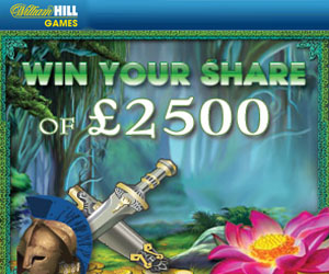 William Hill Mobile Games 2500 bonus