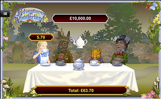 Alice in Wonderland Slots - Try the Online Game for Free Now
