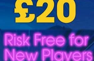 William Hill Vegas 20 risk free