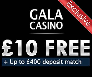 gala mobile casino 10 free no deposit