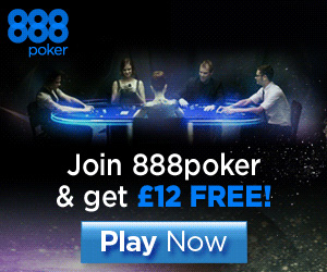888 poker mobile casino 12 free bonus