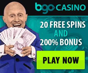 online casino no deposit Bgo