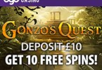 10 free spins at bgo casino