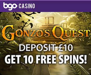10 free spins at bgo casino
