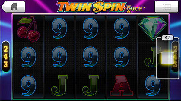 twin spin mobile slots reels