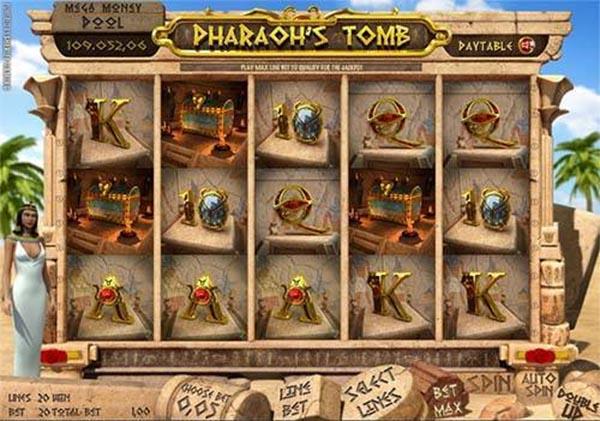 Pharaoh's Tomb reels