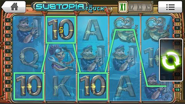Subtopia Slot reels