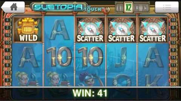 Subtopia Slot scatter